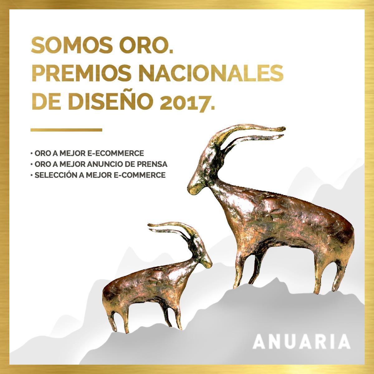 PREMIOS ANUARIA 2017 AGENCIA DE PUBLICIDAD RENDER